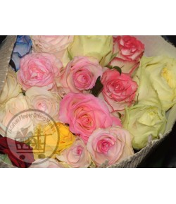 دسته گل رز آجیلی(20 شاخه) درجه دو