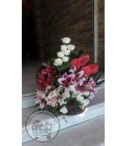 سبد گل مناسبتی - 303