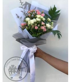 دسته گل رز مینیاتوری-214