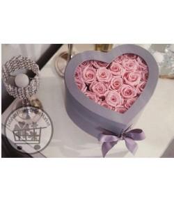 باکس گل رز قلبی - 137