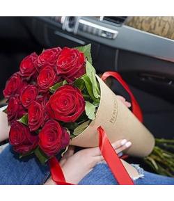 باکس مخروطی گل رز