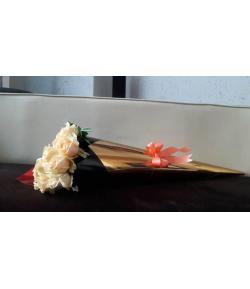 دسته گل رز گلبهی