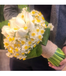 دسته گل رزونرگس