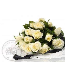 گل رز سفید (20 شاخه)